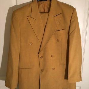 Mustard men's suit